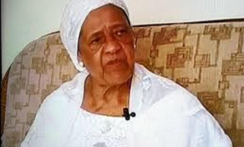 Hadja Andrée Touré, veuve de Sékou Touré