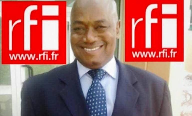 Mouctar Bah, correspondant permanent de RFI à Conakry