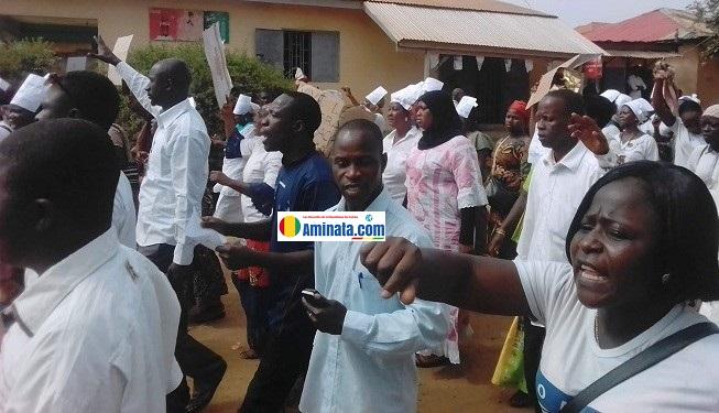 Une manifestation d'enseignants grévistes signalée à Nzerekoré