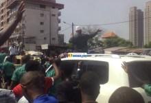 Cellou Dalein Diallo accueillit triomphalement
