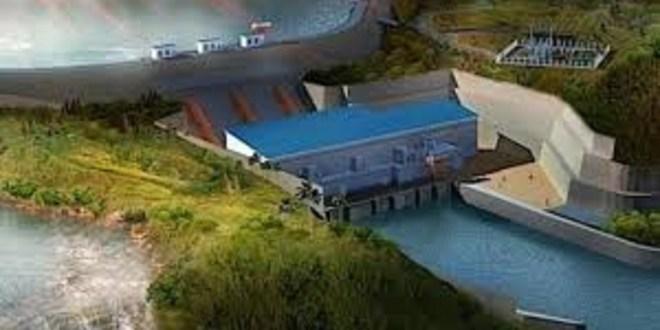 Le barrage Kaleta, à Dubreka en République de Guinée