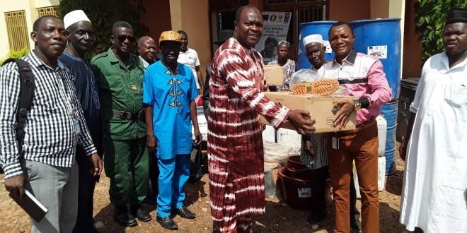 Plusieurs équipements de micro-projets remis à des communautés en Foret dans le cadre de la lutte contre la prolifération des armes légères