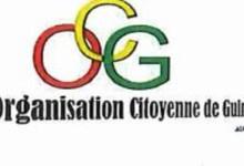 logo de l'organisation citoyenne de Guinée (OCG)