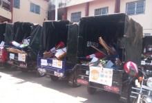 Des moto tricycles, des kits de ramassage d'ordures remis aux jeunes de l'axe Hamdallaye-Kagbelen