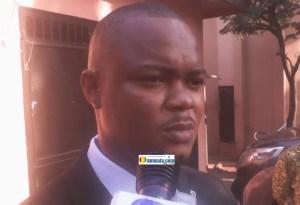 Ousmane Bah, conseiller sur la liste de l'ufdg dans la commune de Matoto