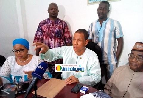 Abdoulaye Sow, secrétaire général de syndicale de l'Union Syndicale de Travailleurs de Guinée (l'USTG)