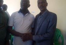 Alpha Oumar Taran Diallo leader de l'Alliance démocratique pour le renouveau (ADR) reçoit Me Abdoul Kabelé Camara, président du RGD
