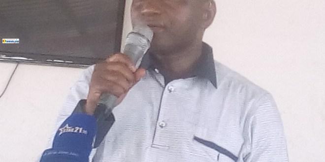 Lansana Komara, ministre de l'enseignement technique et de la formation professionnelle