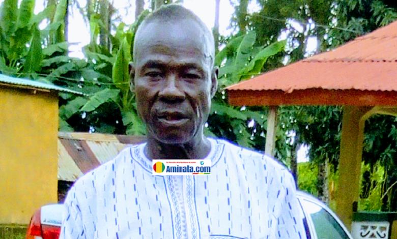 Abdoulaye Camara alias Bras Cassé auteur de la célèbre chanson de campagne Gbangban Fari