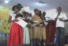 Des lauréats de la dictée organisée par le Rotary Club Ousmane Aribot