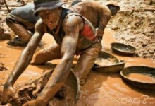 Des orpailleurs dans une mine de Banankoro (photo d'illustration)