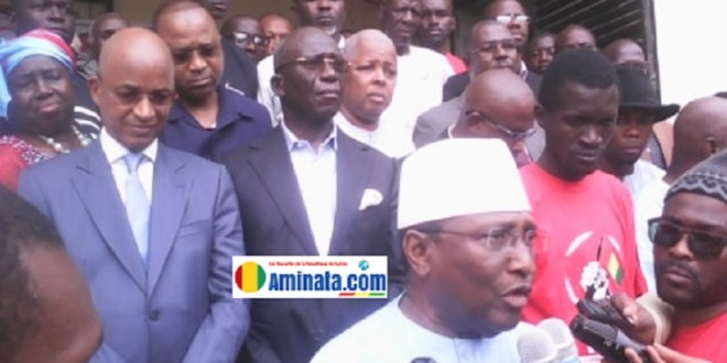 Sidya Touré, Cellou Dalein, d'autres leaders politiques et de la société civile opposés au 3e mandat es forces républicaines (UFR)