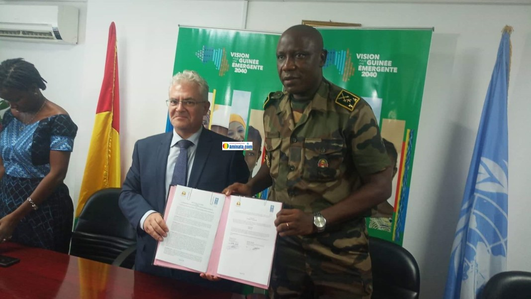 Signature d'un protocole d'accord entre le PNUD et l'ASCAD