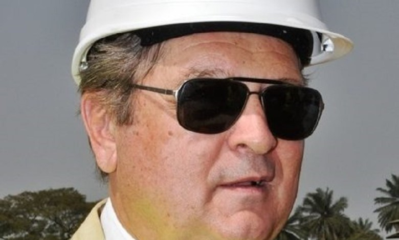 Alexandre Brégadzé, chef de la représentation du Rusal Guinee