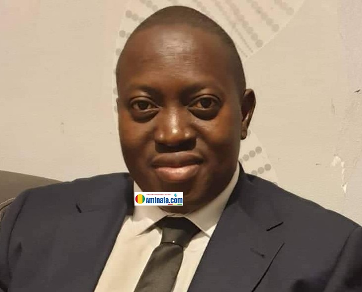 Dr Alpha Abdoulaye Diallo, vice-président du conseil national des organisations de la société civile guinéenne (CNOSCG)