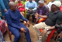 Mamadouba Toss Camara, maire de Matoto et Mathurin Bangoura, gouverneur de Conakry