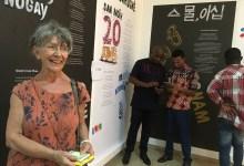 Marie Paule Huet, directrice des éditions Ganndal et organisatrice de l'événement