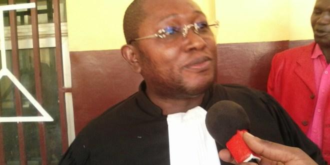 Me Salifou Béavogui, avocat à la cour d'appel de Conakry