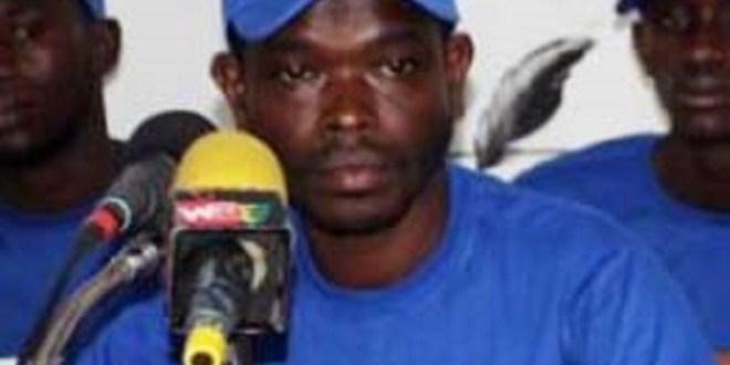 Alpha Idy Baldé est le coordinateur provisoire de la Coalition Sauvons la Guinée