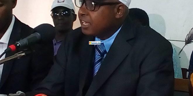 Colonel Misbaou Sow, président du Rassemblement des Forces Démocratiques (R.F.D)
