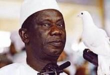 Lansana Conté, défunt président de la Guinée
