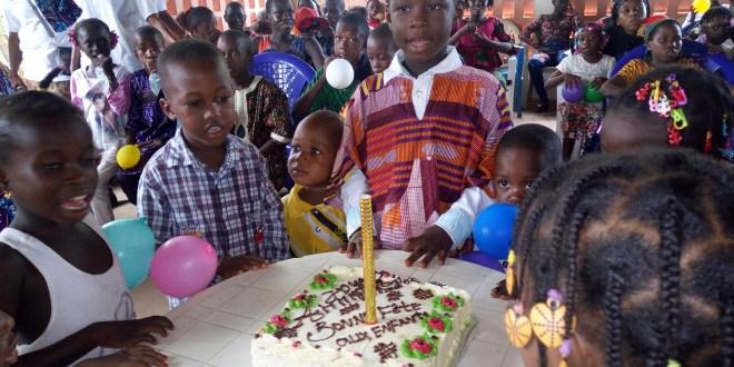 Le centre Dream célèbre la journée de l'enfant africain