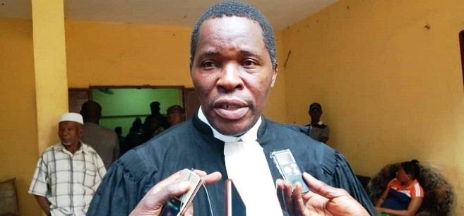 Me Pépé Koulémou, avocat à la cour