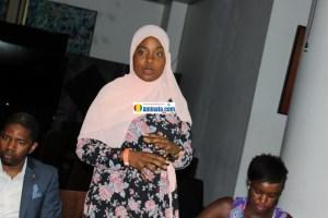 Asmaou Diallo, présidente de l'amicale des étudiants guinéens des Etats-unis