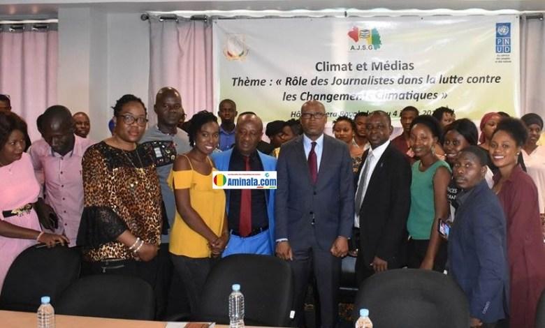 atelier de formation des journalistes sur le rôle des médias dans la lutte contre les changements climatiques