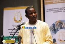 Dansa Kourouma, président du Conseil national des organisations de la société civile (CNOSCG)