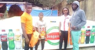 Des gagnants des pronostiques des matchs de la CAN récompensés par Braguinée