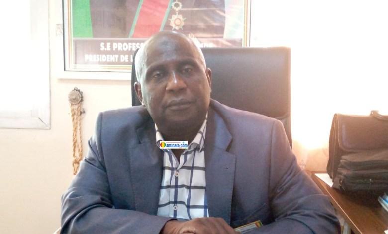 Elhadj Alseny Bangoura, maire de Dubréka lors d'un entretien avec notre rédaction