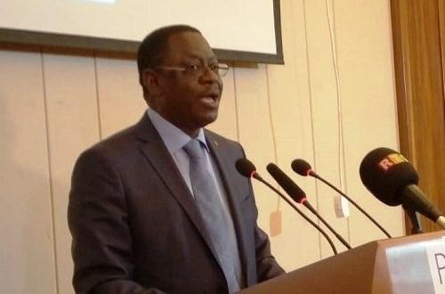 Frédéric Loua, ministre des pêches et de l'aquaculture et de l'Economie Numérique