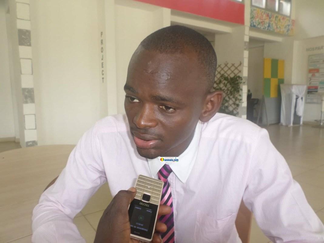 Ibrahima Kalil Dialloprésident du Collectif des jeunes démocrates (CJDG)