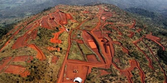 Le gisement Simandou à l'extrême-est de la Guinée