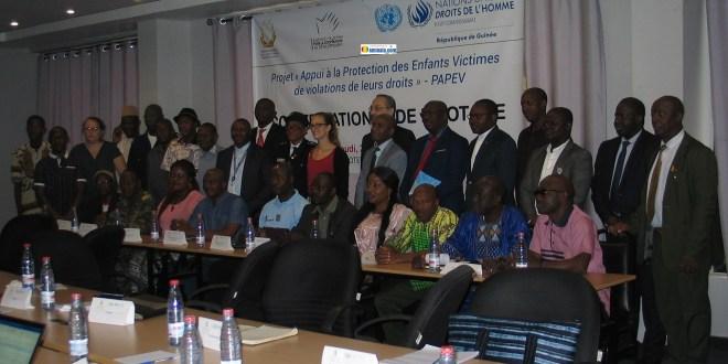 Première rencontre du Comité National de Pilotage du PAPEV-Guinée
