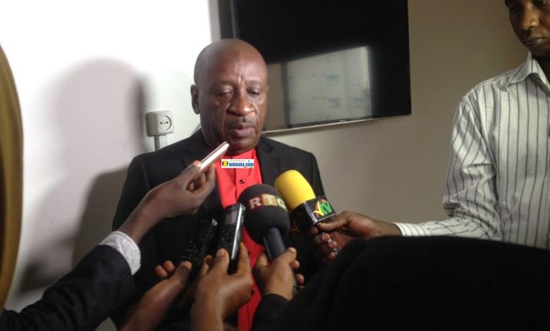 Abdoulaye Djibril Diallo, directeur général du Centre de Formation et de Perfectionnement en Technique de l'Information et de la Communication