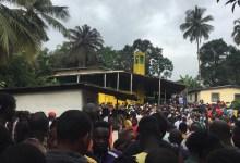 Incendie au quartier Ridlight, au Libéria au moins vingt guinéens tués (crédit photo Issiagha Diallo)