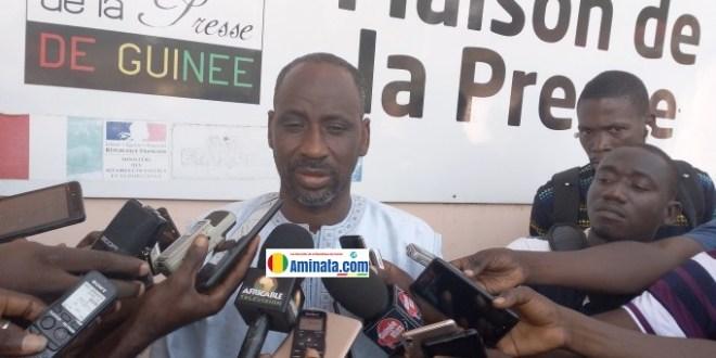 Mohamed Sidibé, président du Haut conseil des Maliens en Guinée