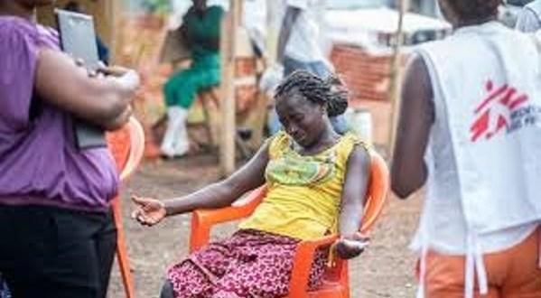 Une malade du virus Ebola