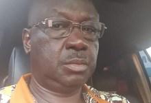 Elhadj Dembo Sylla, vice-président de l'Union pour la démocratie de la Guinée (UDG)
