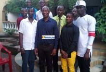 Bah Oury, Président de l'Union pour la démocratie et le développement (UDD) lors de sa rencontre avec le Collectif des Jeunes Démocrates de Guinée (CJDG)