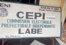 La commission électorale préfectorale indépendante (CEPI) de Labé