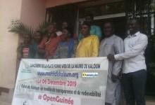 Lancement officiel de la plateforme web de la mairie de Kaloum