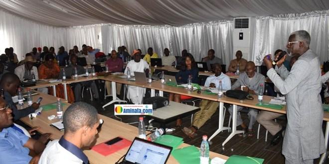 Présentation le 28 novembre 2019 à Conakry, la revue sectorielle du plan de travail 2019