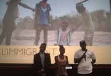 Projection d'un film document sur la migration irrégulière
