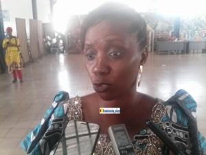 Saran Traoré, présidente du réseau des organisations de la jeunesse africaine leaders des nation-unies pour l'atteinte des objectifs du développement durable (ROJALNU-ODD Guinée)