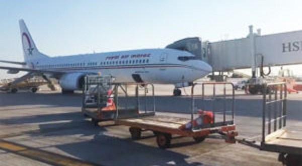 Un Boeing du Royal Air Maroc