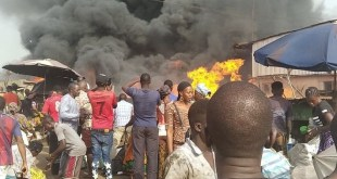 Incendie à Matoto