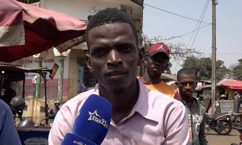 Sékou Tamimou Diallo, conducteur de Taxi-moto à Bambeto